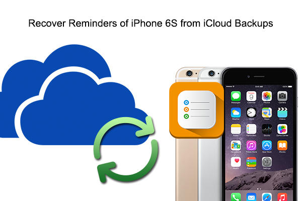 recover from icloud pic Recover Reminders of iPhone 6S from iCloud/iTunes Backups on Mac