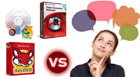 AnyDVD vs Pavtube Video Converter Ultimate