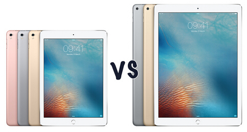 ipad pro comparison  iPad Pro 9.7 vs iPad Pro 12.9: the differences you may have to learn