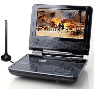 play DVD on portable DVD player