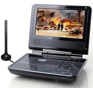 play DVD on portable DVD player