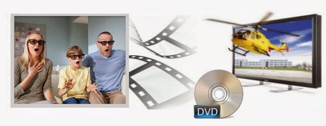 Convert DVD to 3D SBS MP4
