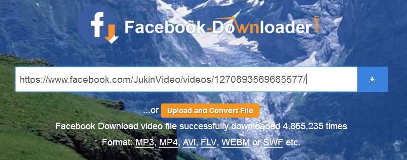 FBvids online downloader